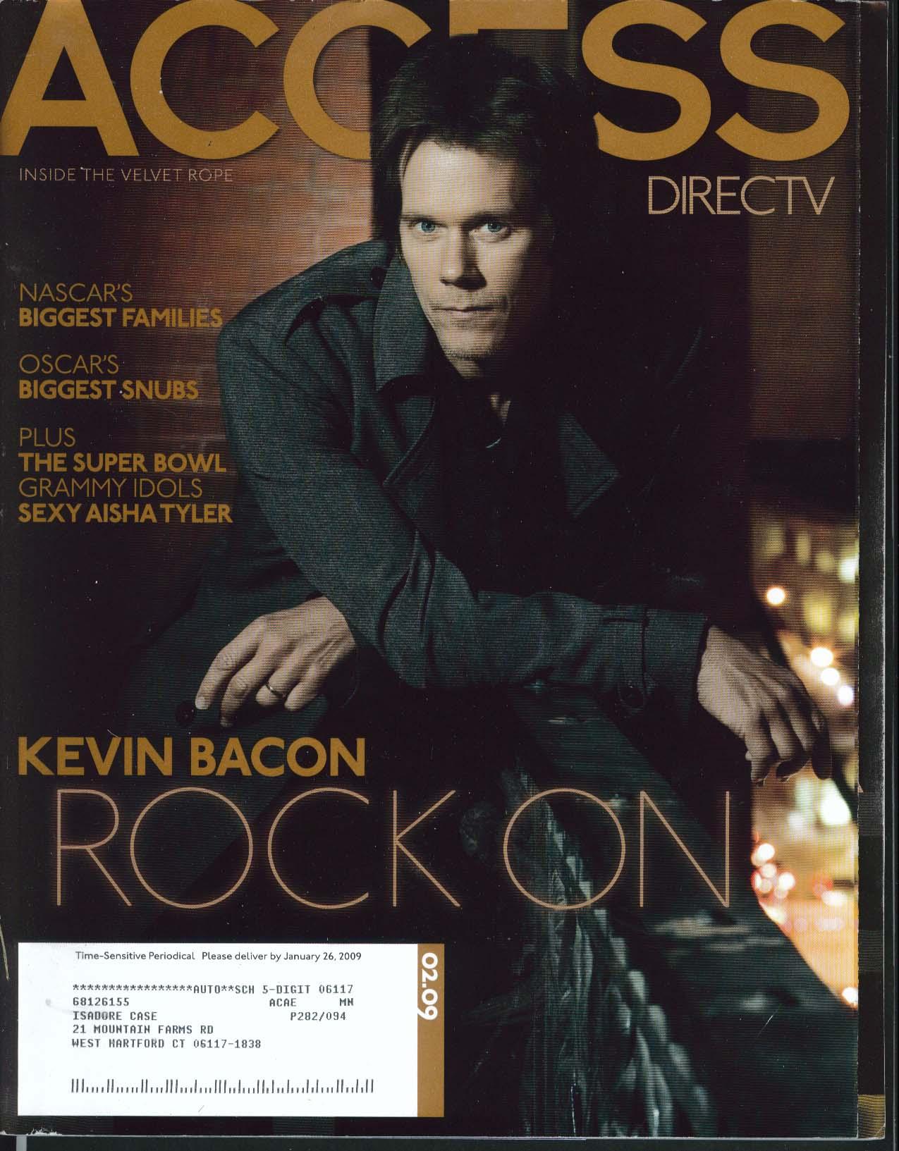 Image for ACCESS DirecTV Kevin Bacon NASCAR Oscars Aisha Tyler 2 2009