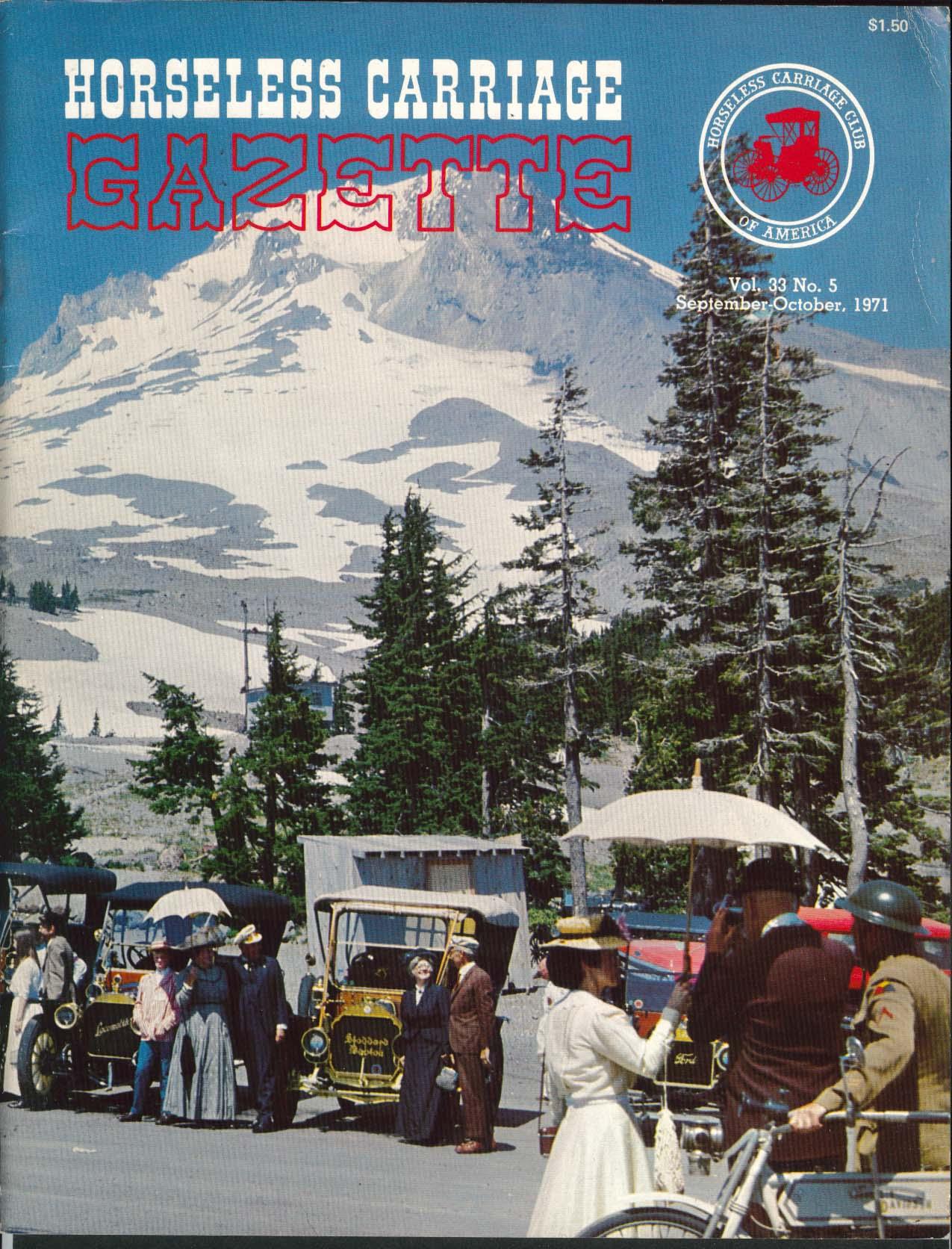 HORSELESS CARRIAGE GAZETTE La Jolla Tour 1905 Mercedes Sunbeam 9/10 1971