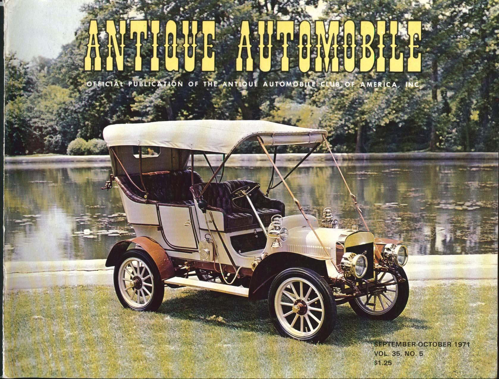 ANTIQUE AUTOMOBILE Trifon Special AACA National Spring Meet Detroiter 9/10 1971