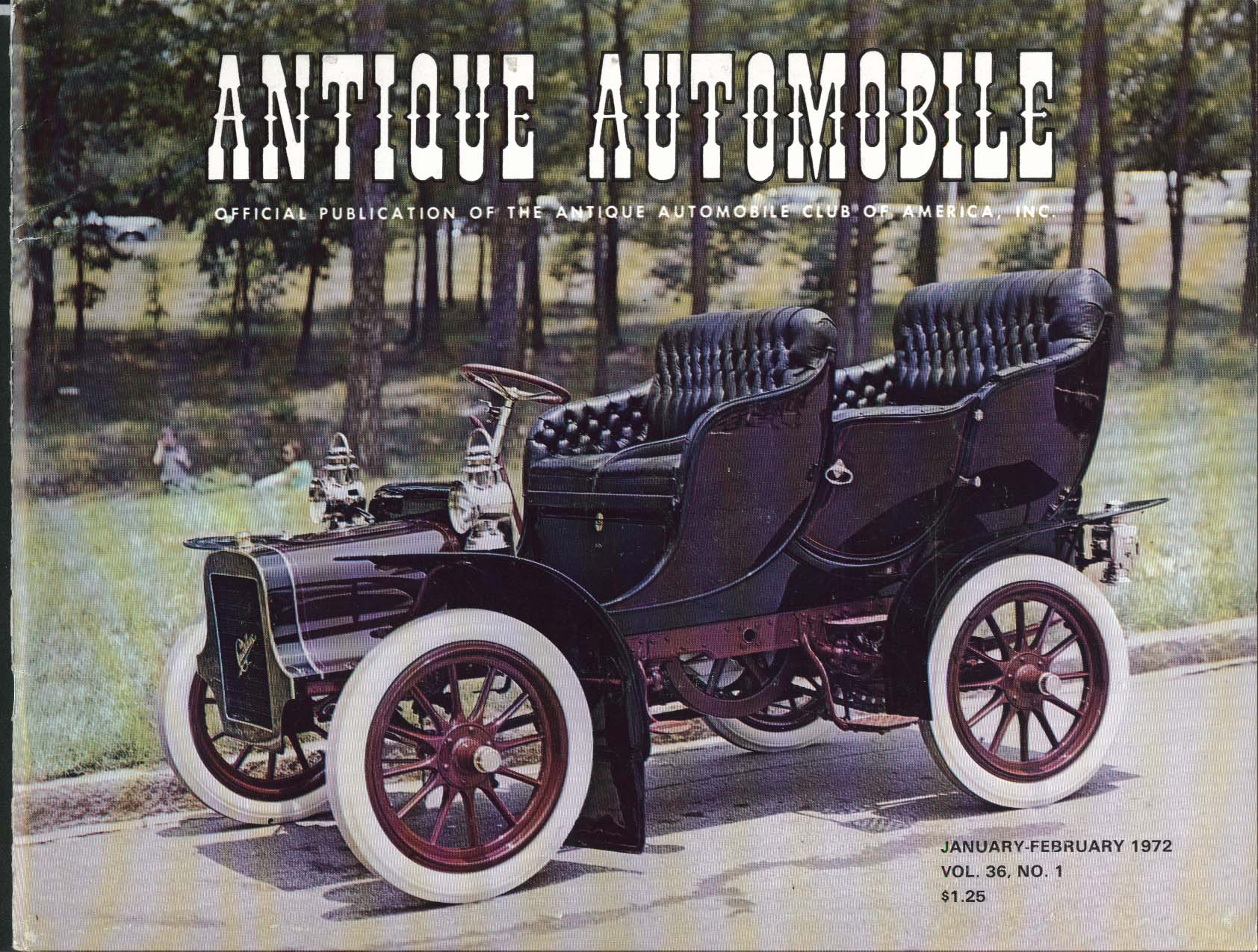 ANTIQUE AUTOMOBILE Glidden Tour Paul Marvel Halladay Ford ++ 1/2 1972