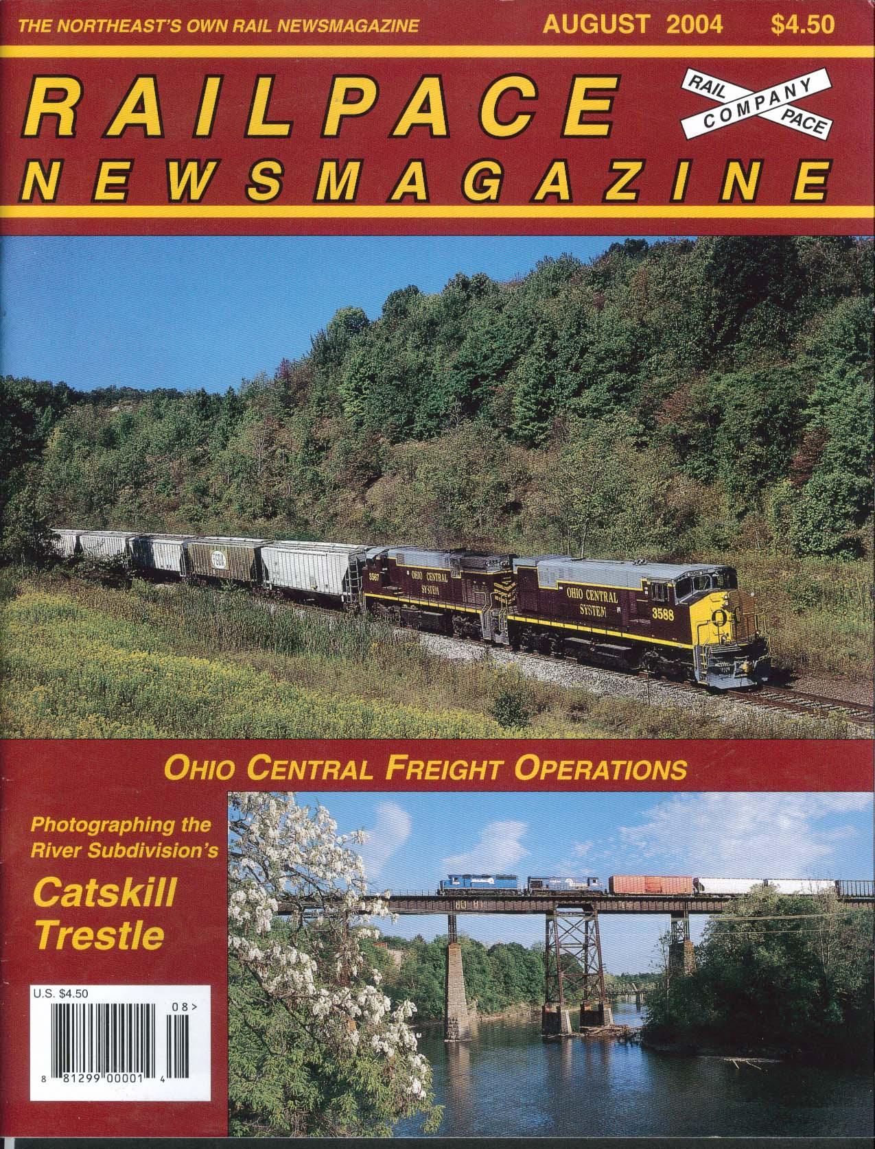 RAILPACE Ohio Central Freight Operations Castkill Trestle Subdivision 8 2004