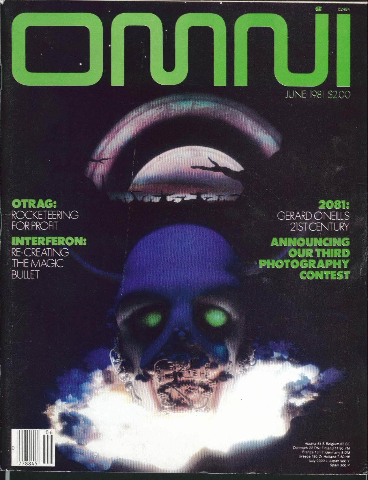 OMNI Orson Scott Card Gerard O'Neill OTRAG Interferon ++ 6 1981