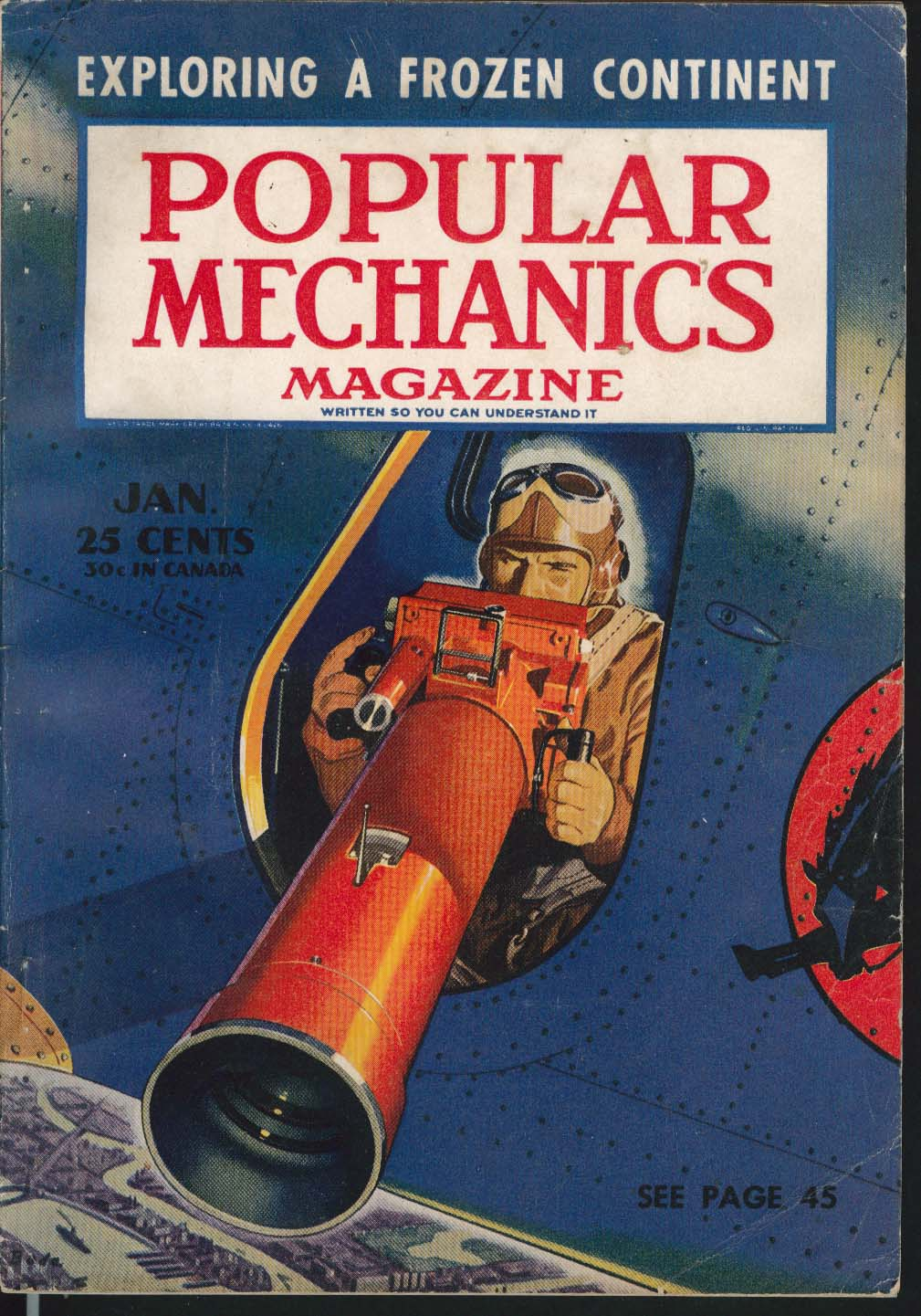 POPULAR MECHANICS U-235 Airliner Coloroto Television Effects Bomber Tests 1 1941