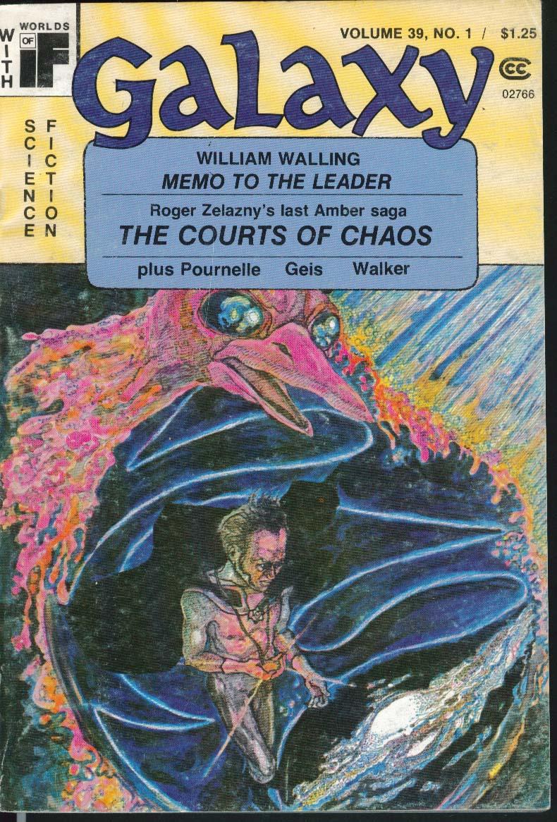 GALAXY William Walling Roger Zelazny Pournelle Geis Walker 12 1977-1 1978