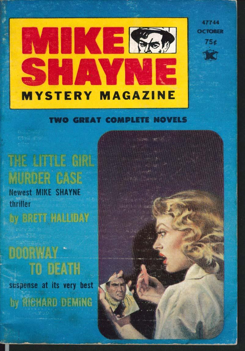 MIKE SHAYNE Mystery Magazine Brett Halliday Richard Deming 10 1974