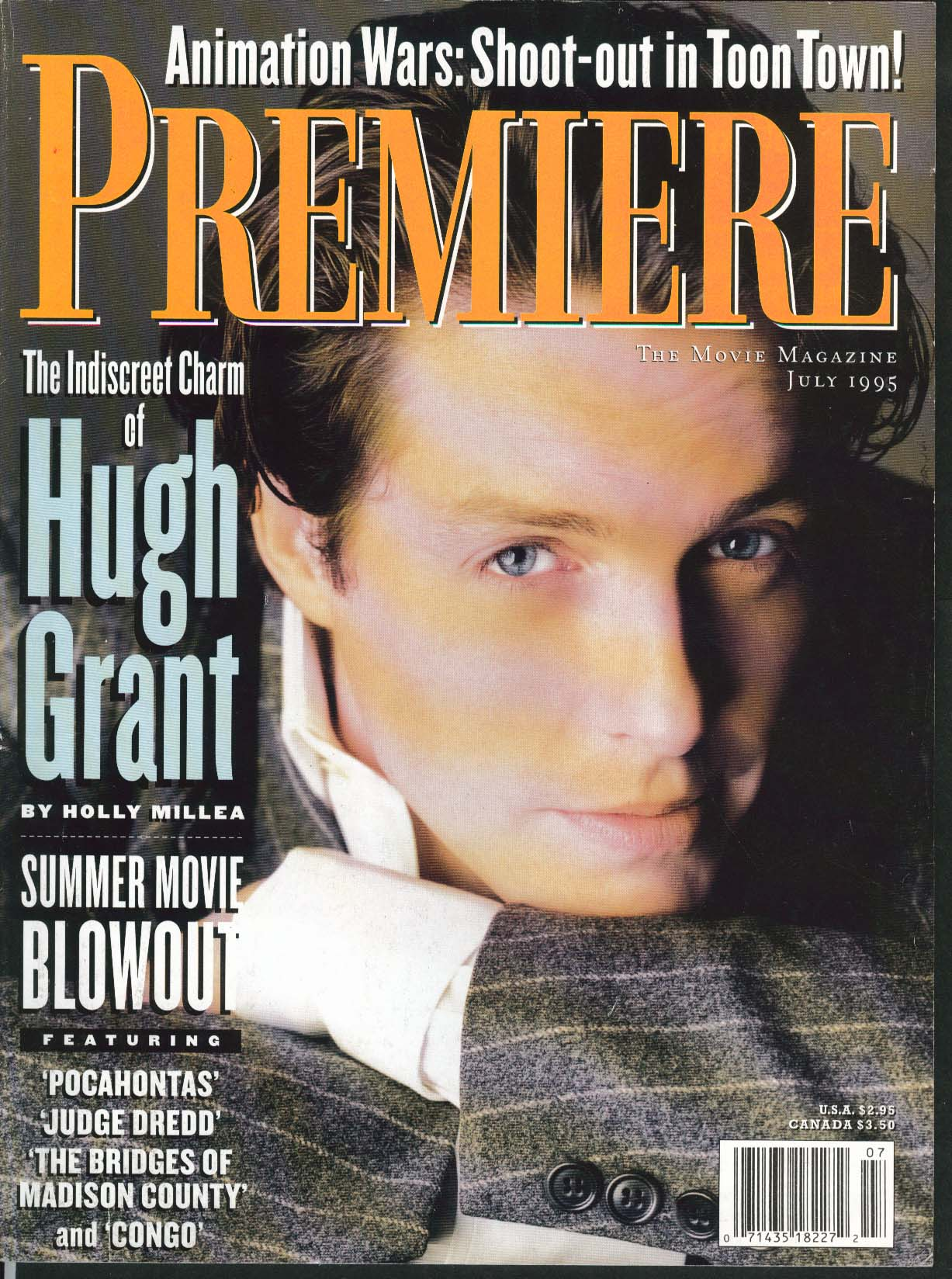 Image for PREMIERE Hugh Grant Diane Lane Congo Sondra Locke Julianne Moore ++ 7 1995