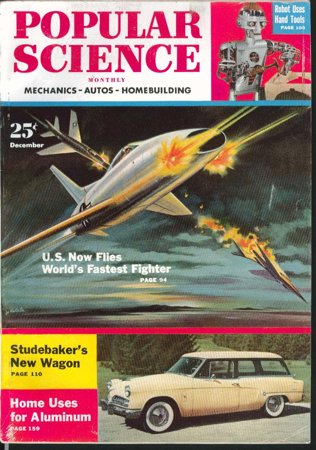 Image for POPULAR SCIENCE Studebaker Wagon Diesel Bike Infrared Rays Studebaker ++ 12 1953