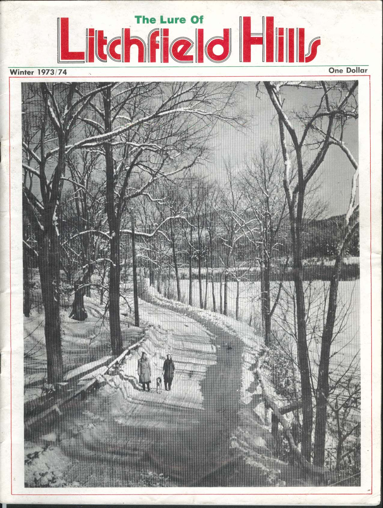 Image for LITCHFIELD HILLS Lawrence Duryea Chester Destler Montgomery Hare ++ Winter 1973