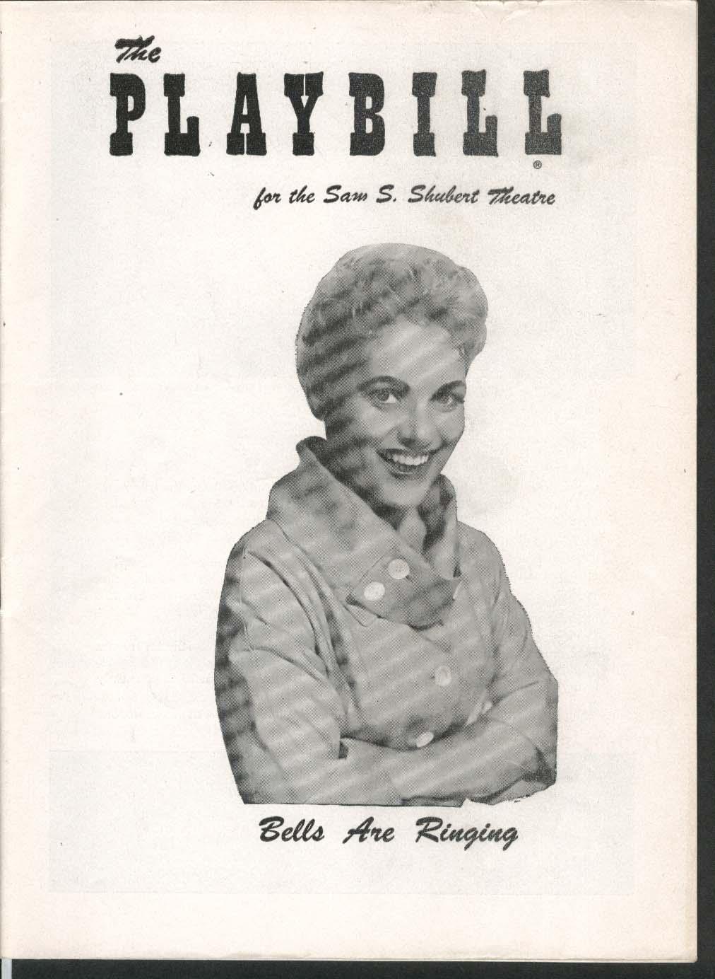 Bells Are Ringing Playbill 7/22/57 Judy Holliday Betty Comden Adolph Green