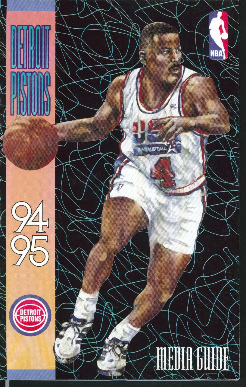 Image for Detroit Pistons 1994 1995 NBA Media Guide