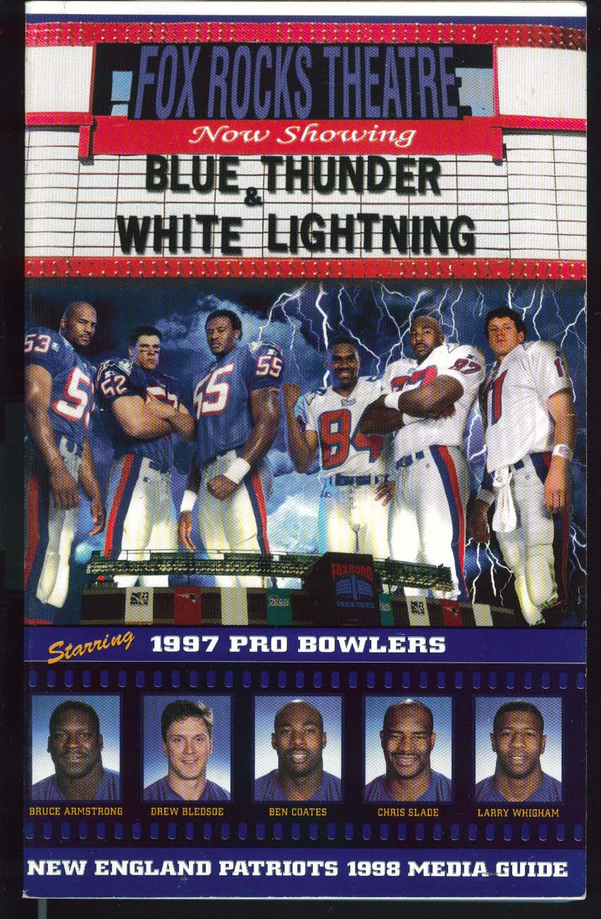New England Patriots 1998 NFL Media Guide