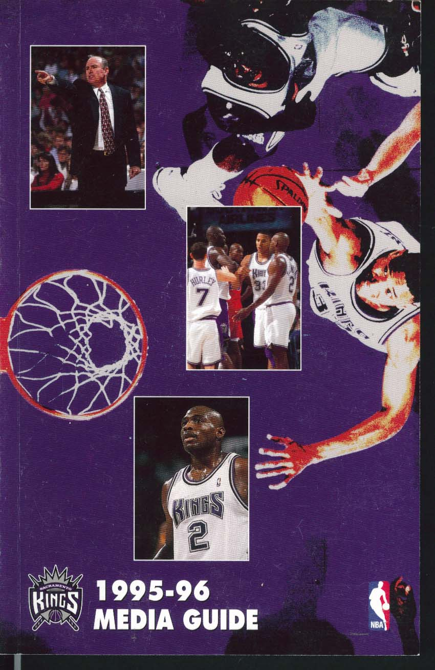 Image for Sacramento Kings 1995 1996 NBA Media Guide