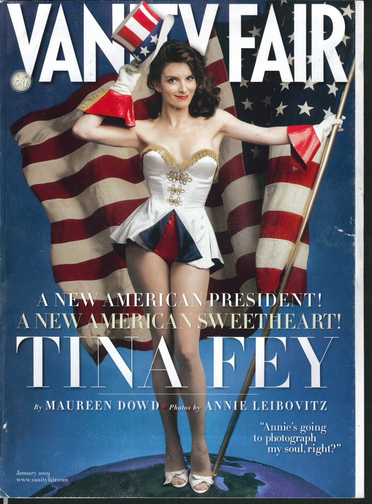 Image for VANITY VAIR Tina Fey Annie Leibovitz Brian McNally Dick Cheney 1 2009