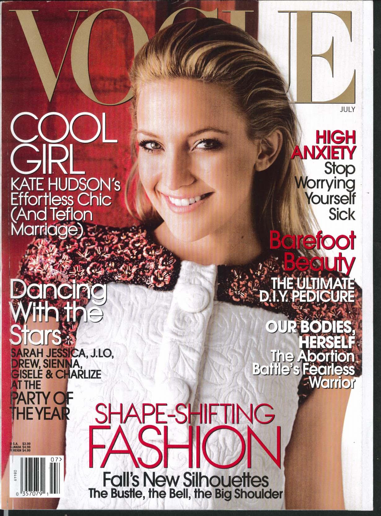Image for VOGUE Kate Hudson Sarah Jessica Parker Jennifer Lopez Charlize Theron 7 2006