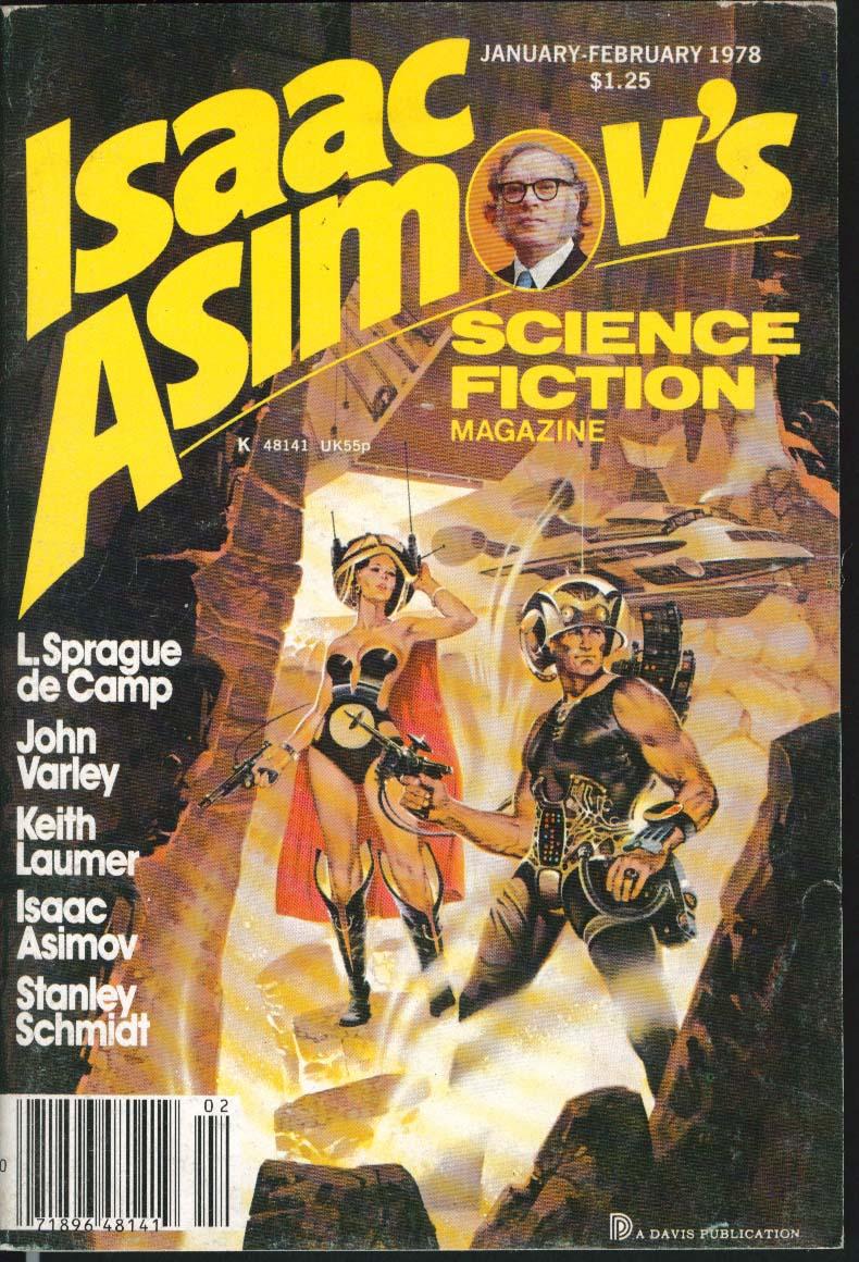 Image for ISAAC ASIMOV'S Science Fiction Sprague de Camp John Varley Keith Laumer 1/2 1978