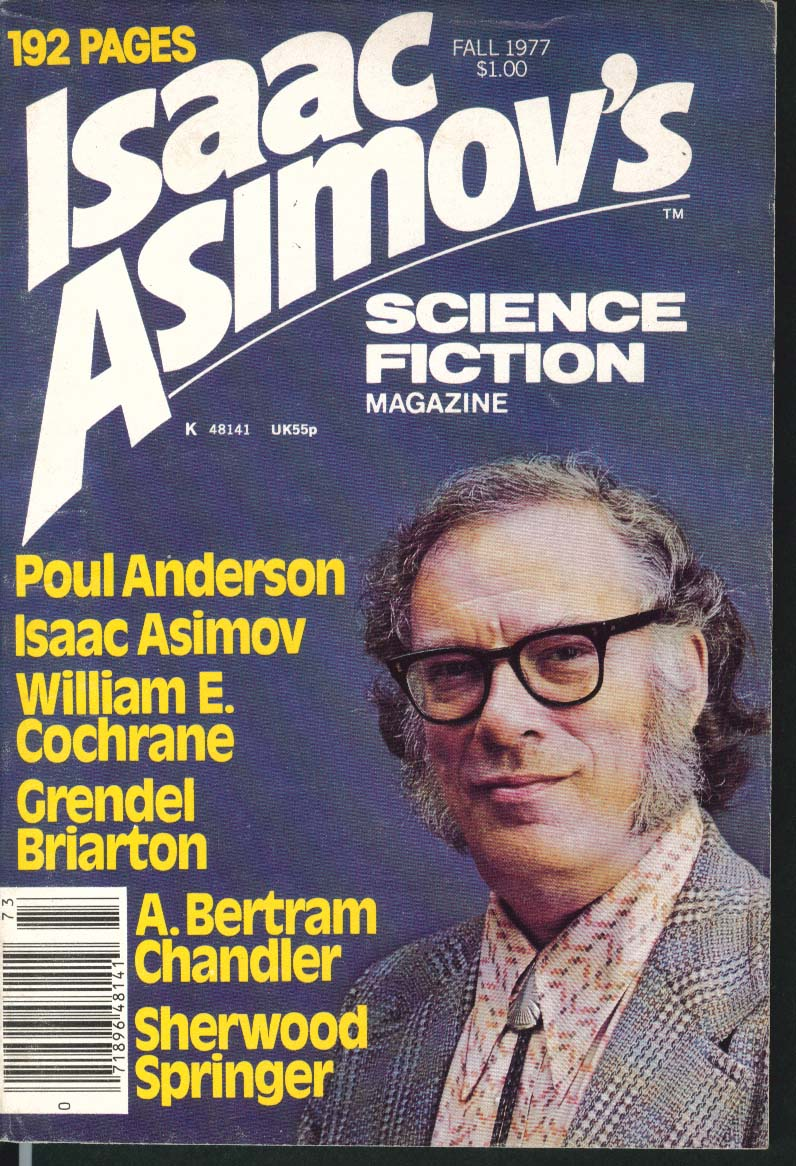 Image for ISAAC ASIMOV'S Science Fiction Poul Anderson William Cochrane Lorelei Fall 1977