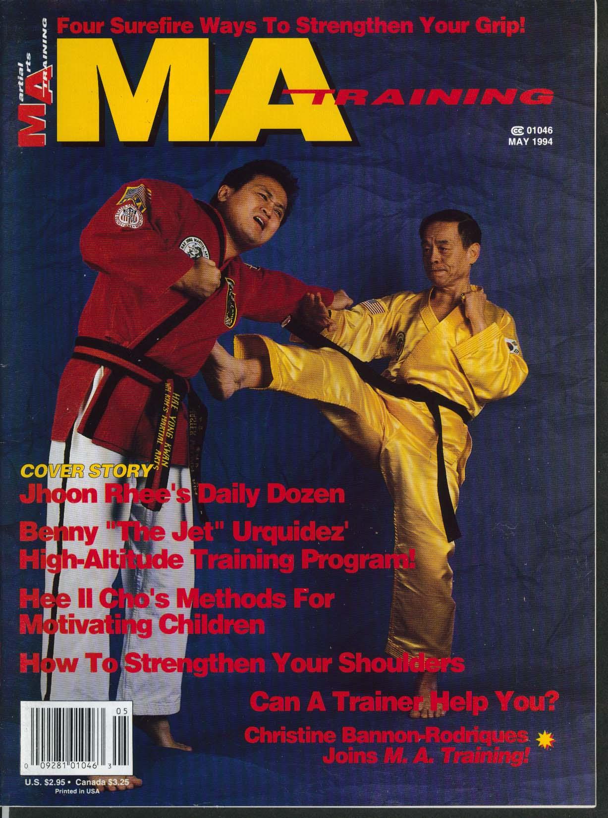 Image for MARTIAL ARTS MA TRAINING Jhoon Rhee Benny Urquidez Hee Il Cho ++ 5 1994