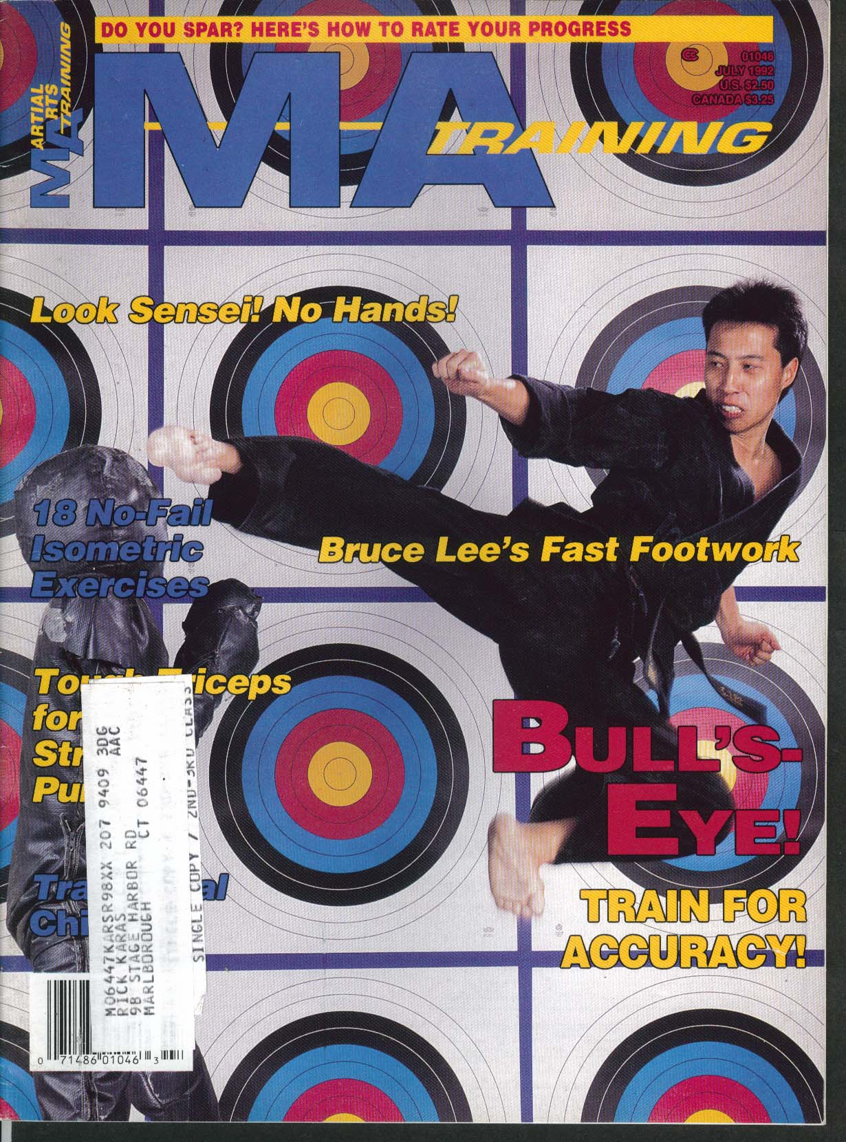 Image for MARTIAL ARTS MA TRAINING Bruce Lee Footwork Chishi Okinawa Accuracy 7 1992