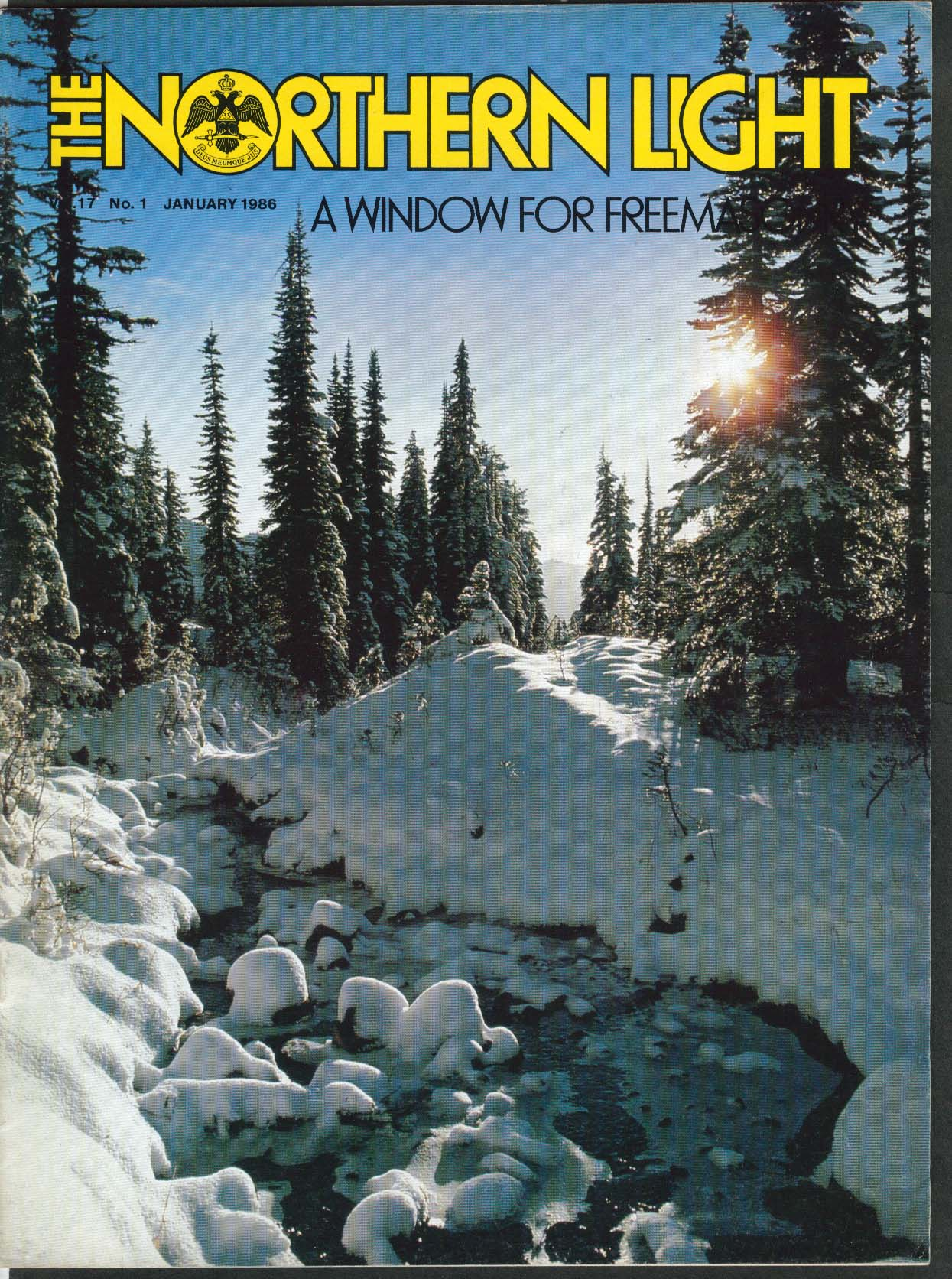 Image for NORTHERN LIGHT Vol 17 #1 Delmar Darrah Abbott Scholarship Schizophrenia 1 1986
