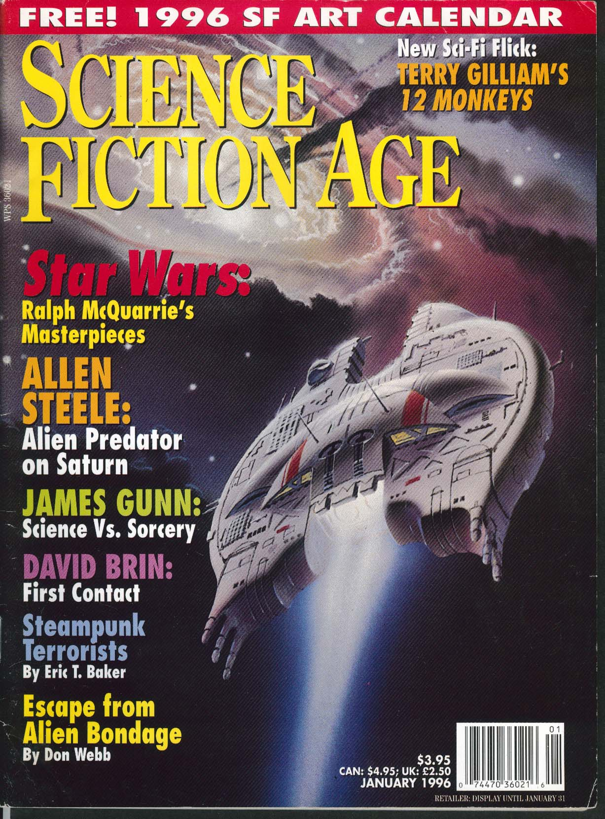 Image for SCIENCE FICTION AGE Ralph McQuarrie Star Wars Terry Gilliam James Gunn ++ 1 1996