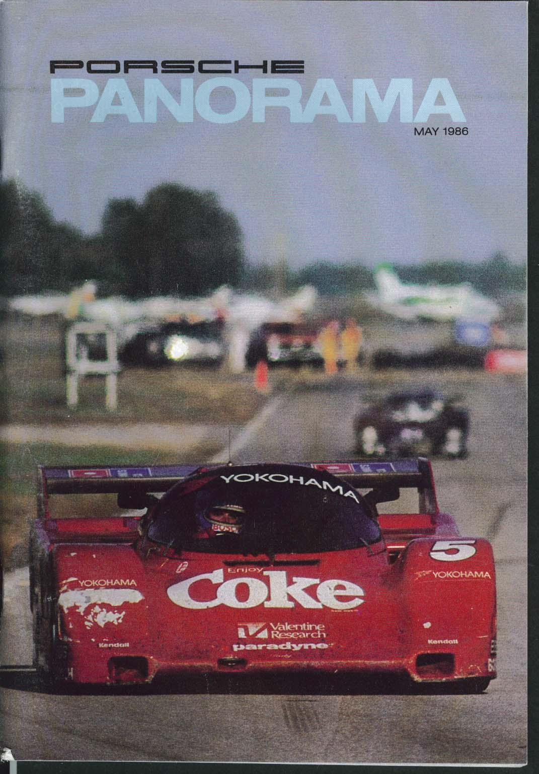 PORSCHE PANORAMA Tony Lapine David Colman PGA Sheraton 959 928 Tech 5 1986