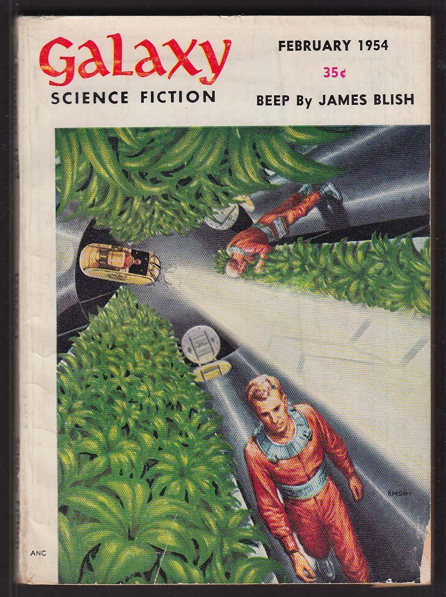 GALAXY James Blish Roger Dee H Chandler Elliott 2 1954