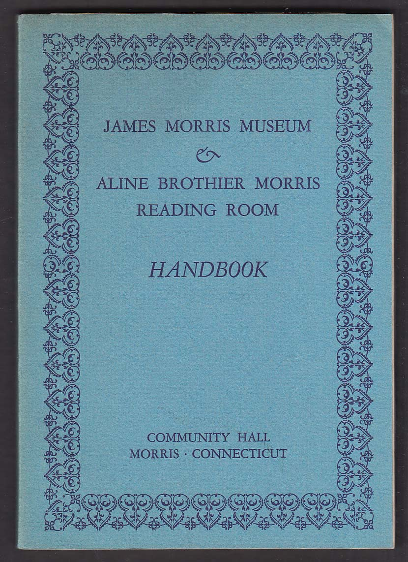 James Morris CT Museum & Reading Room handbook 1935