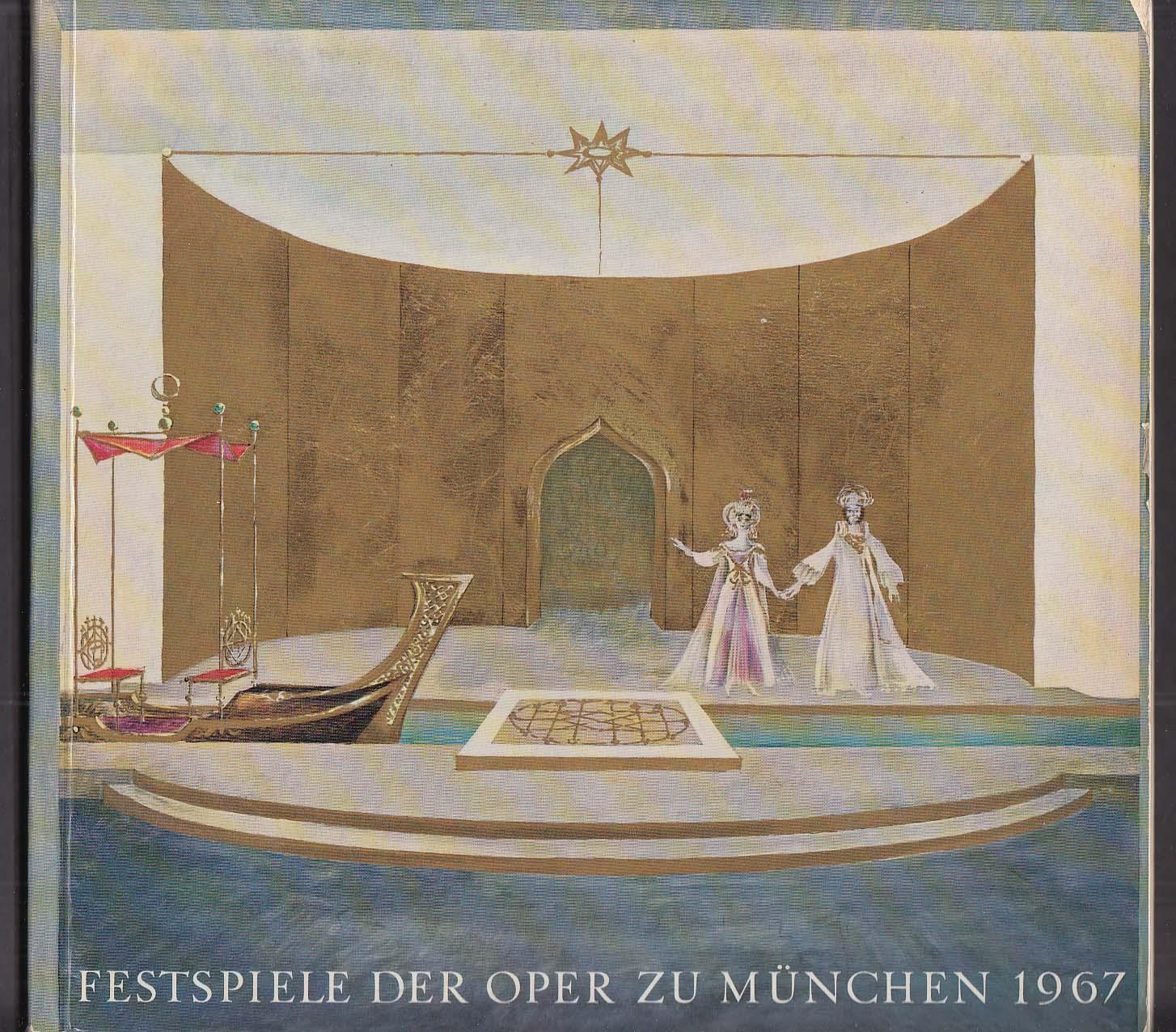 Munich Festival Muenchner Festspiel 1967 program