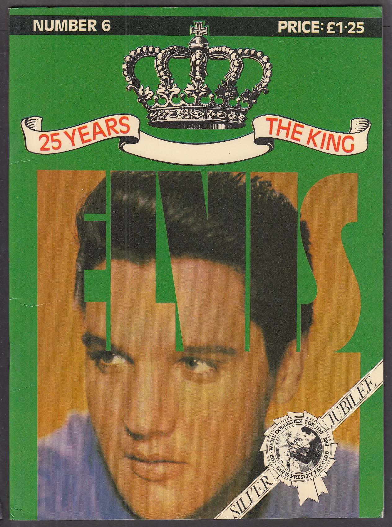 Official Elvis Fan Club 1981 25 Years #6 1956-1960