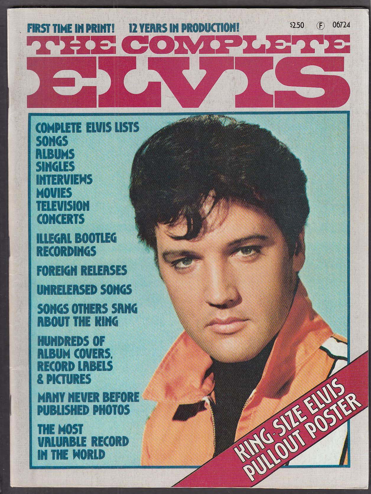 The Complete Elvis 1977 Funky Angel collector mag