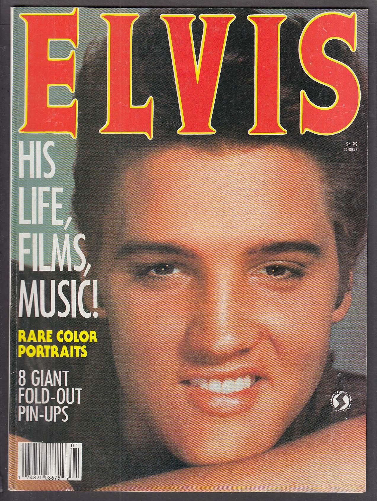 Rock Stars presents Elvis David Hanna collector magazine 1987