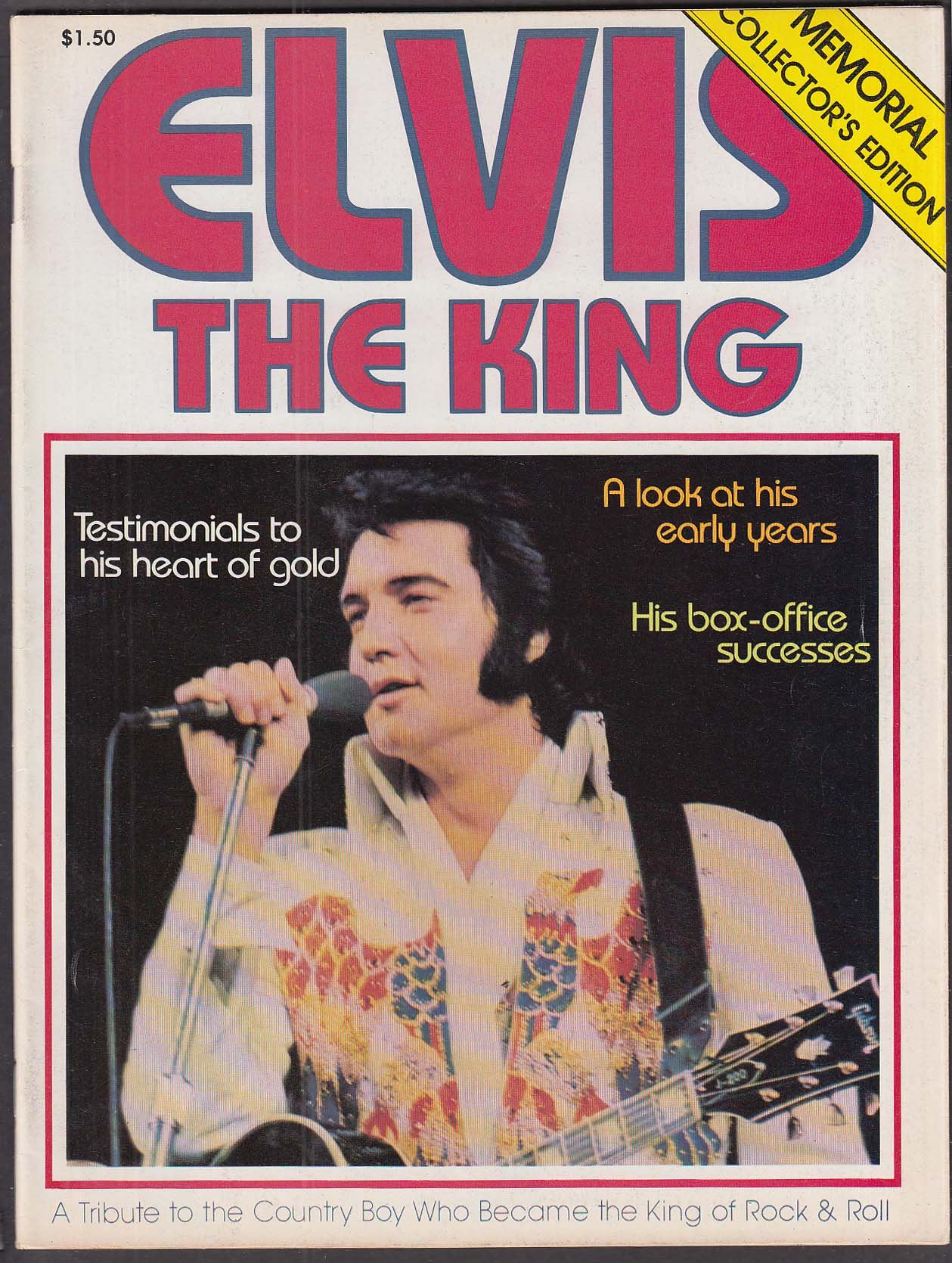 Elvis The King 1977 Memorial Collector's Edition Wellington-Hall