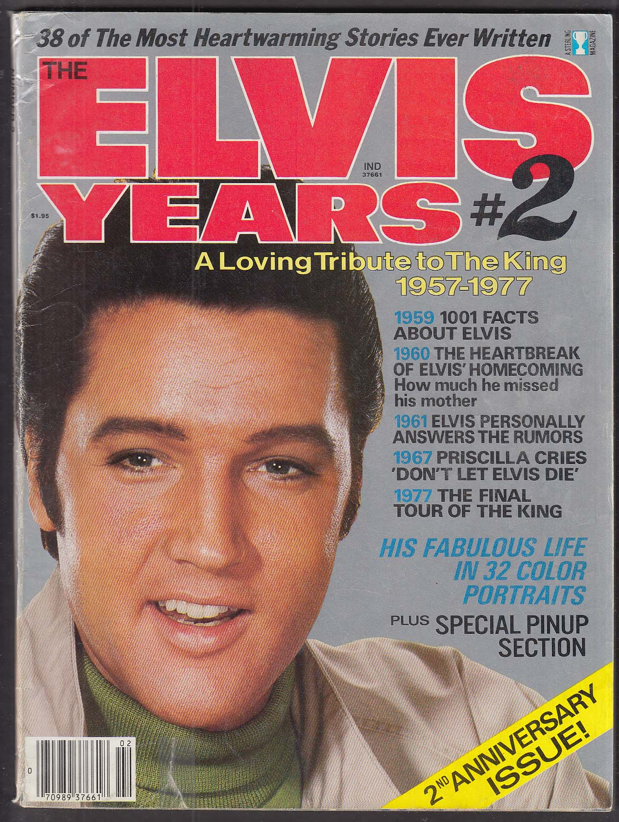 The Elvis Years #2 1979 Sterling Magazine