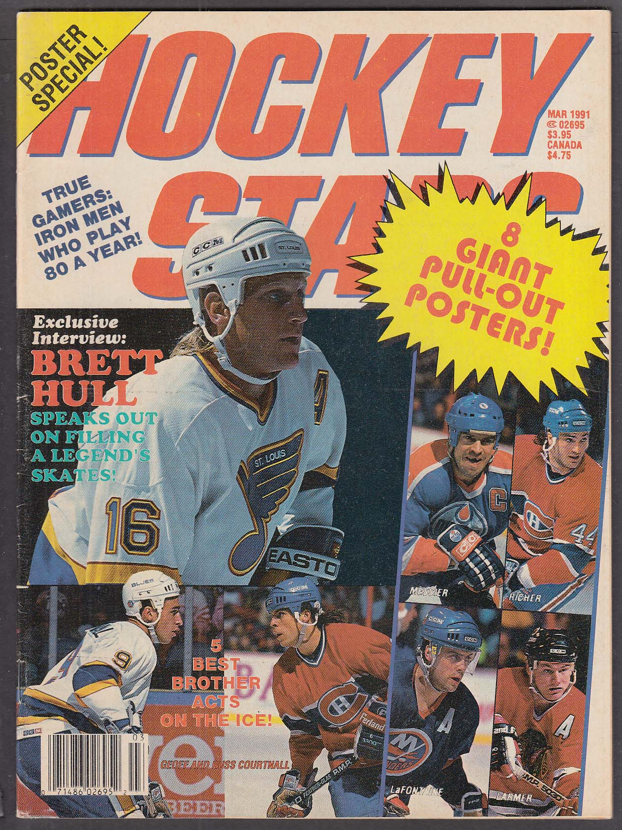 HOCKEY STARS Brett Hull interview 3 1991
