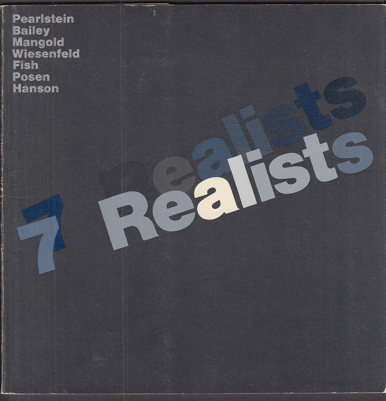 7 Realists exhibition catalog Yale Art Gallery New Haven CT 1974
