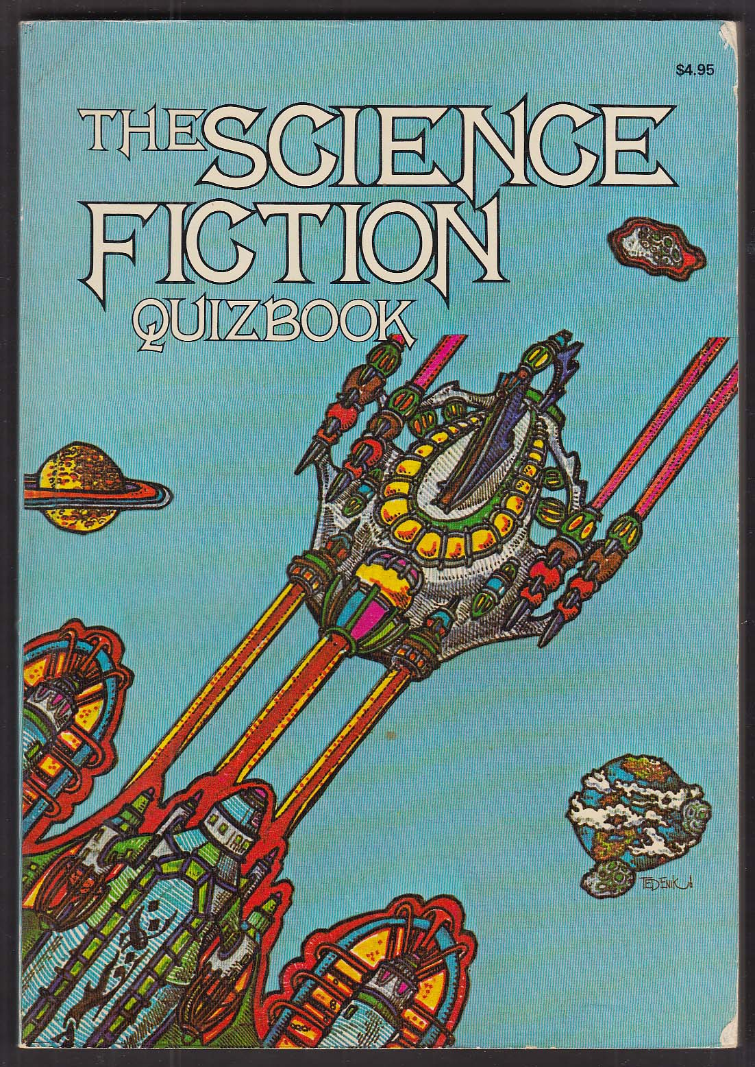 Martin Last Baird Searles: Science Fiction Quizbook 1976 pb Vincent DiFate illus