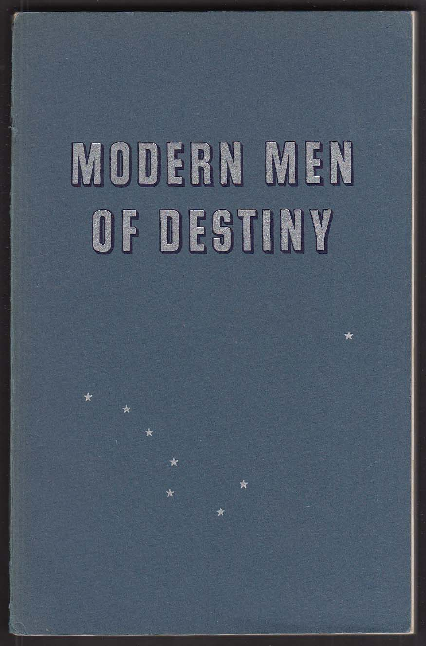 Pick Hotels Chicago IL Modern Men of Destiny 1945 book