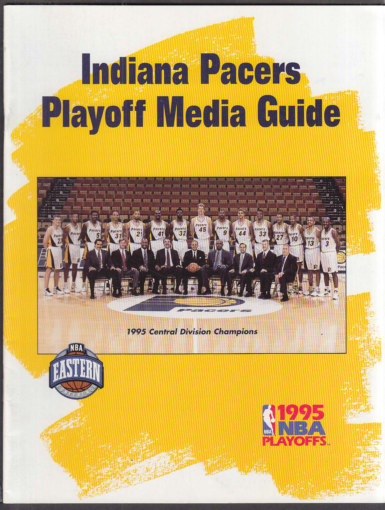 Image for 1995 Indiana Pacers Playoff Media Guide