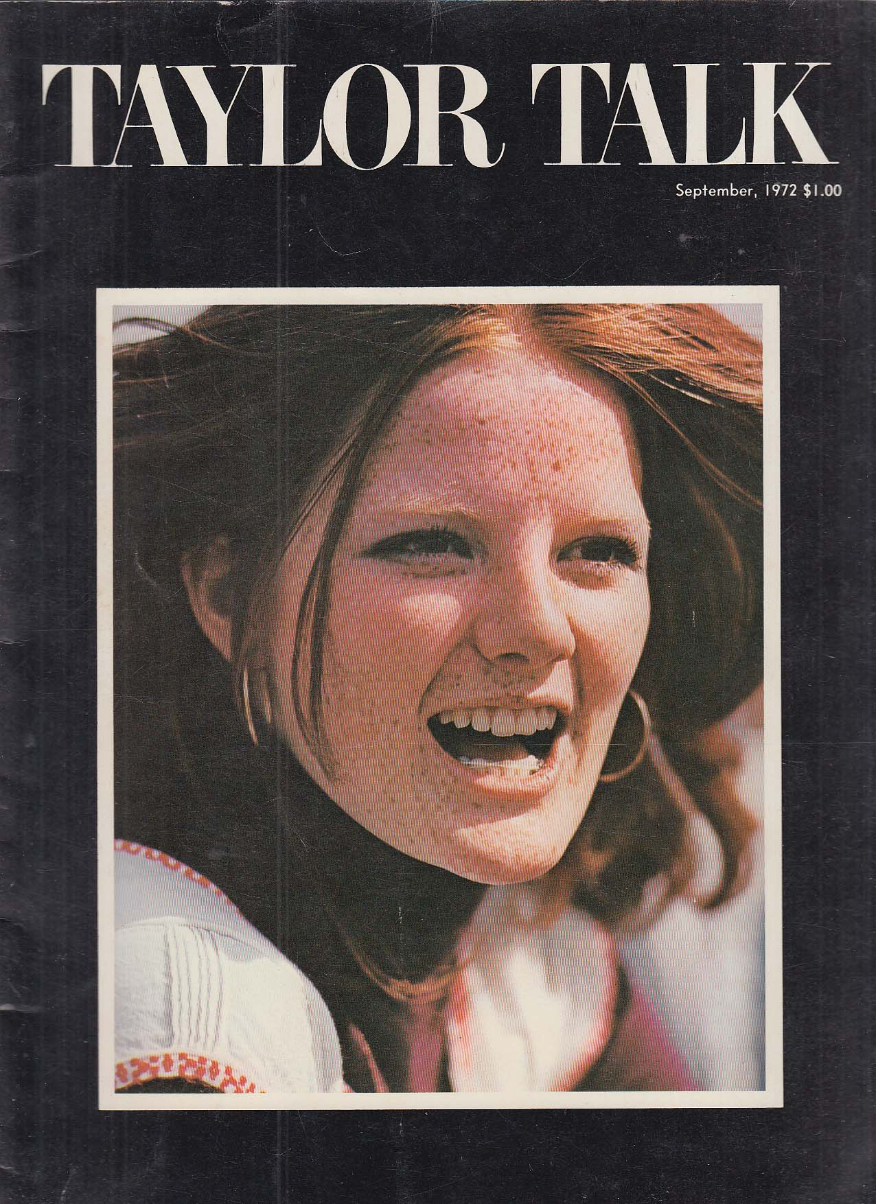 Image for TAYLOR TALK Taylor Publishing Company Yearbook 9/1972