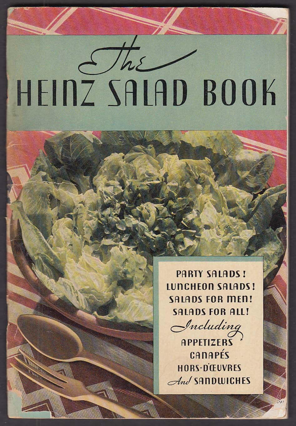 Heinz Salad Book recipes appetizers + 1950s?