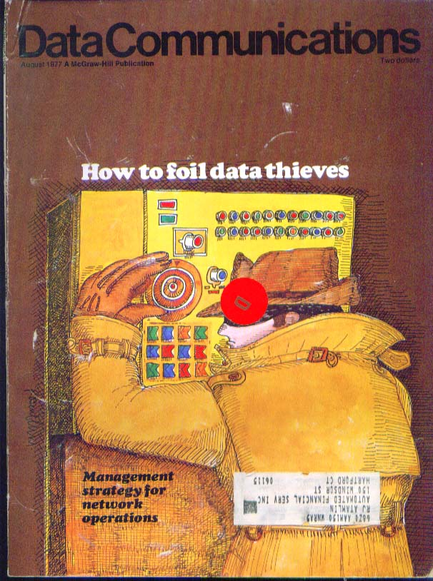 DATA COMMUNICATIONS Harold C Folts, networks ++ 8 1977
