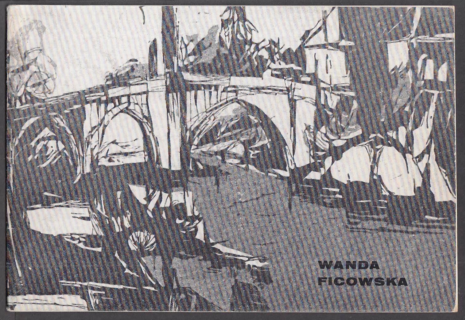 Wanda Ficowska Grafika 1964 exhibition catalog Warsaw