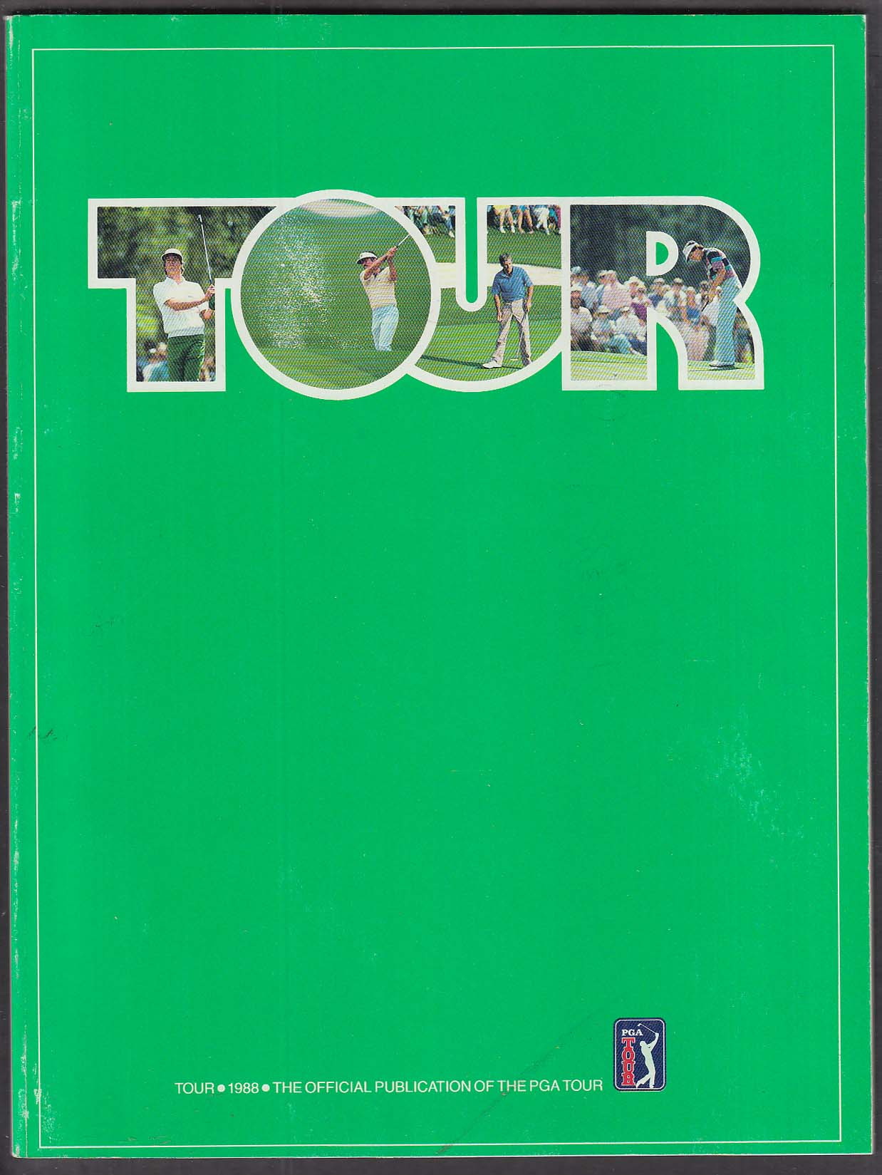 PGA Golf Tour 1988 Official Publication TPC Valley ++