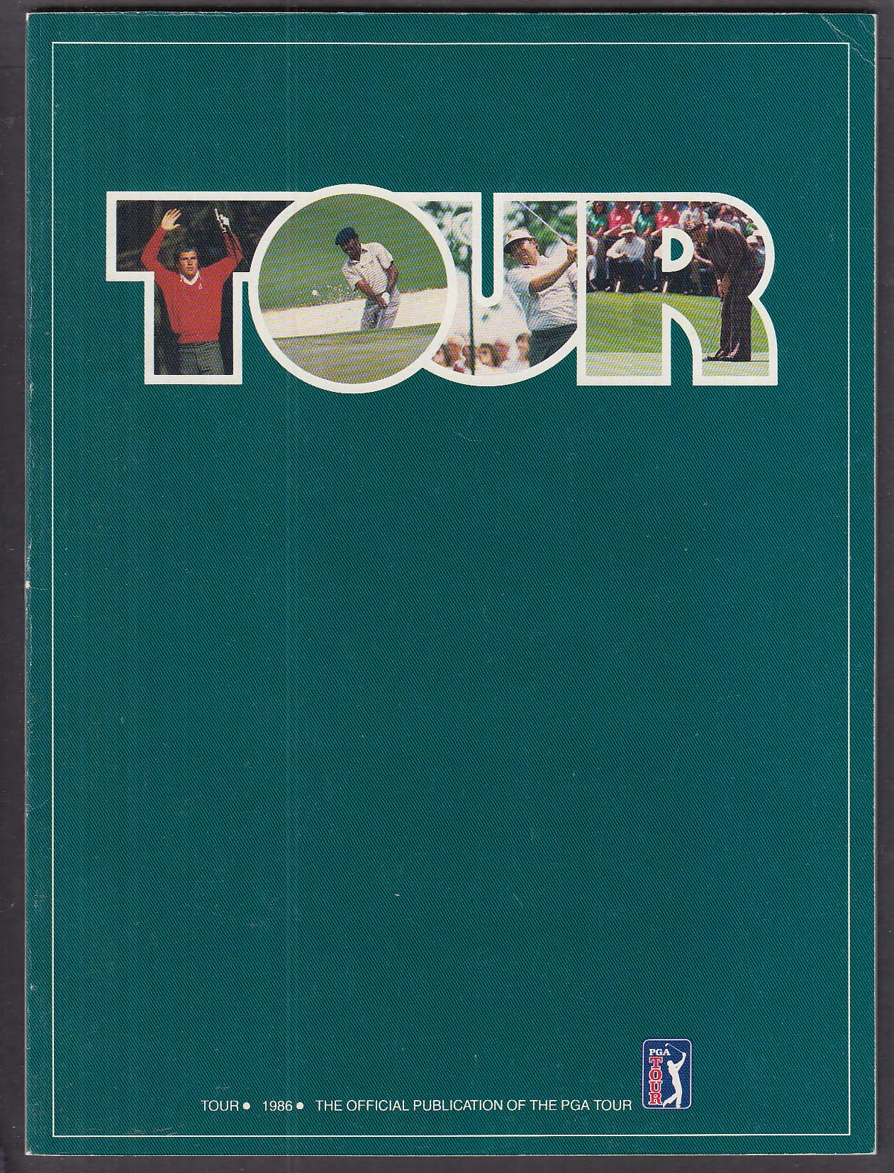 PGA Golf Tour 1986 Official Publication