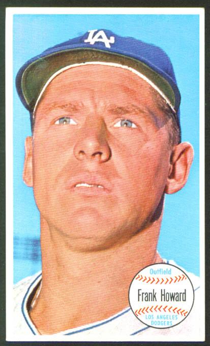 Frank Howard Dodgers Topps Giant #24 1964