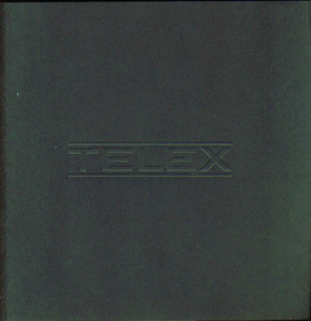 Telex Acoustic Products headset mic catalog 1960s