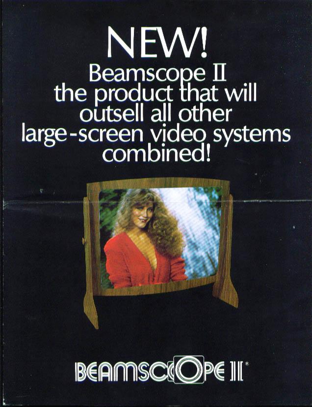 IMS Beamscope II International Marketing Services folder 1982
