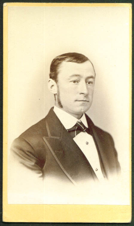 Francis Stiles III CDV by Tyler: Easton PA