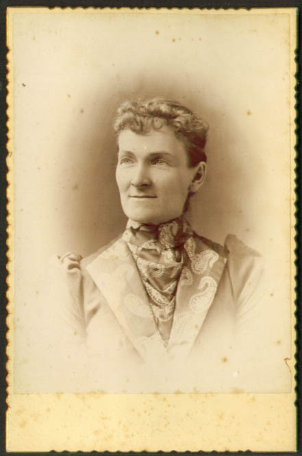 Image for A I Russell Mrs W N Leavitt cabinet photo
