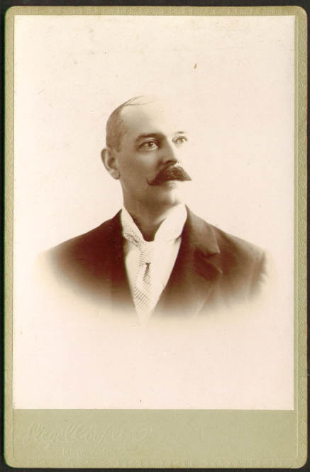 Image for Walter Bazley: Siegel Cooper NYC cabinet photo
